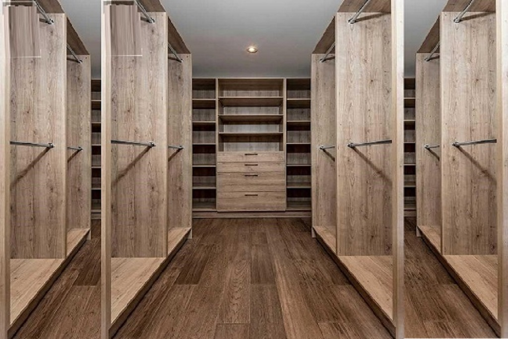 custom built cabinets for closet